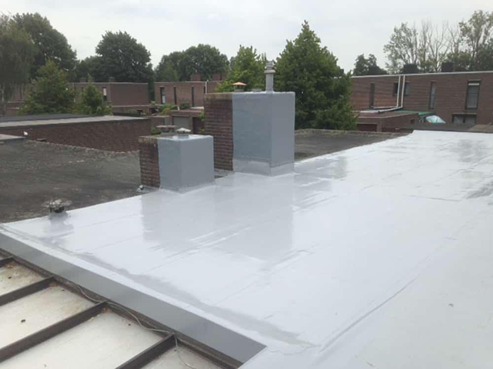 Plat dak isoleren u bespaar tot dankzij gt foam