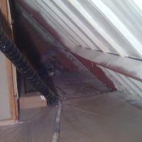 hellend dak isoleren met gespoten PUR