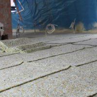 Akoestische matten vloer